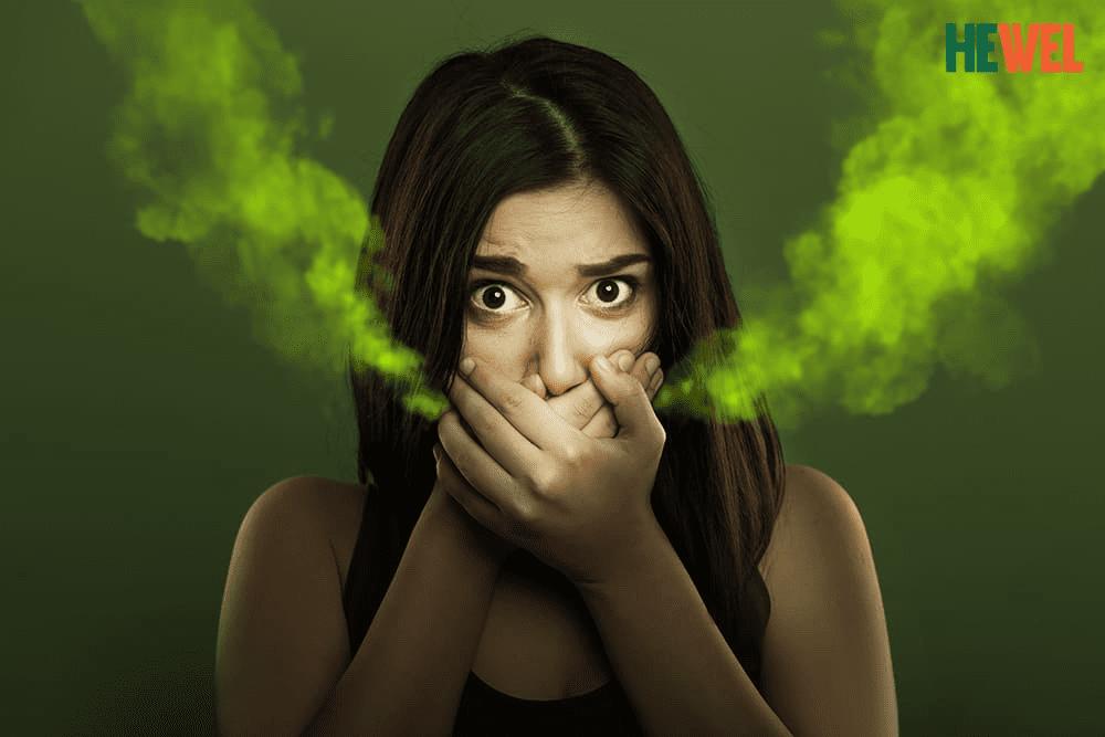 Khi hơi thơ có mùi hôi, rất ít người nghĩ đến khả năng cơ thể đang bị nhiễm độc