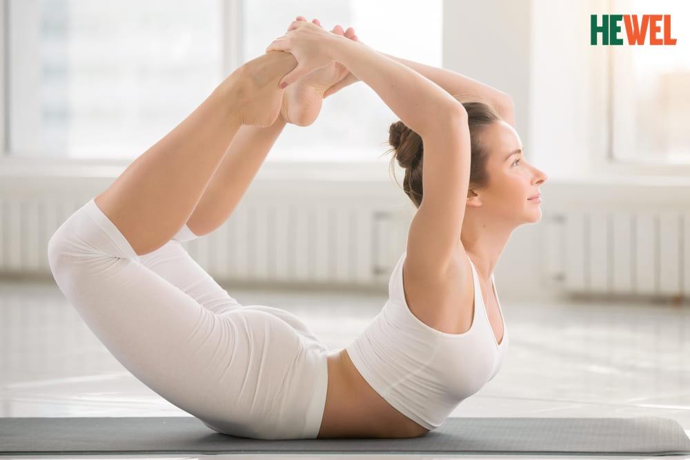 bái tập cánh cung-yoga hỗ trợ điều trị bệnh gan